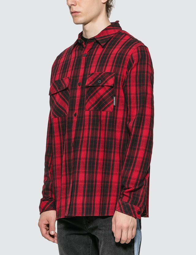 Marcelo Burlon Heart Wings Shirt Red Men