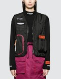 Heron Preston Nylon Tool Vest Jacket Picture