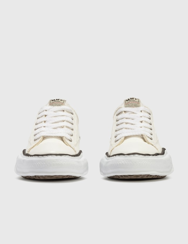 Maison Mihara Yasuhiro Original Sole Canvas Lowcut Sneaker White Men