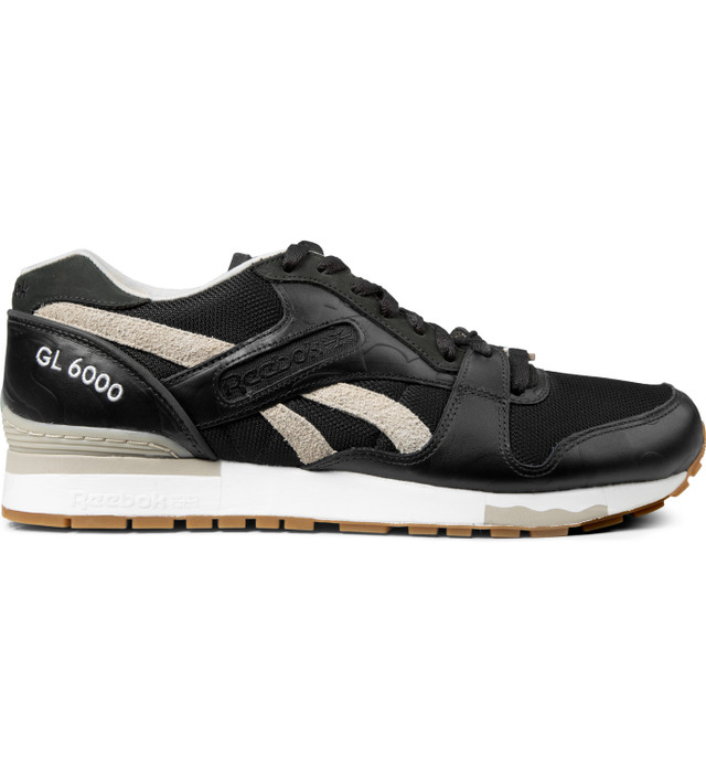 Reebok Distinct Life x Reebok Black/White GL6000 Shoes