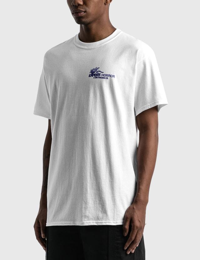 Expert Horror Core Racer T-Shirt White Men