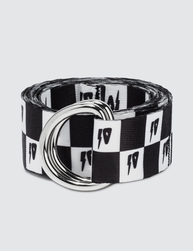 10.Deep Check D-Ring Belt