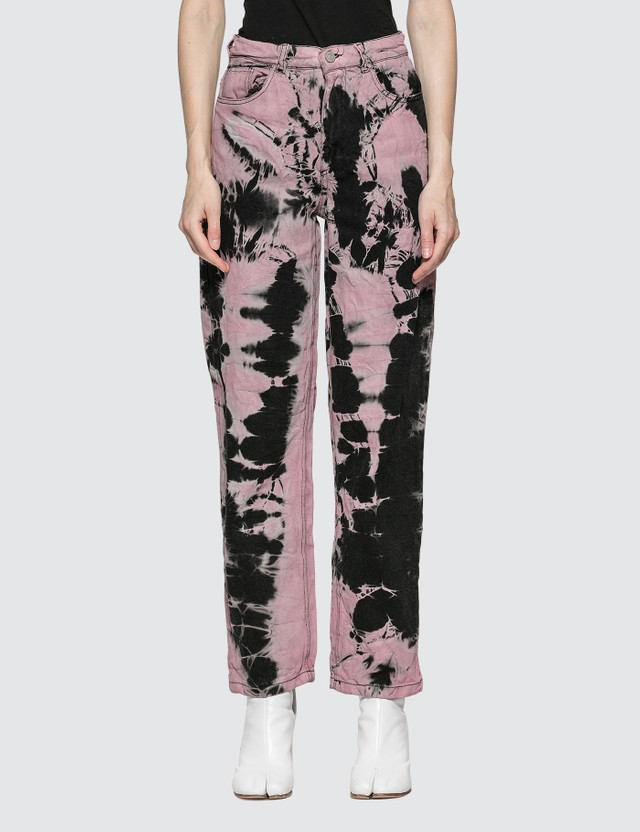 Ashley Williams Ex Boyfriend Tie Dye Jeans