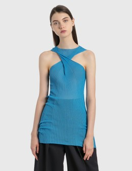 Bottega Veneta Cotton-Silk Rib Top