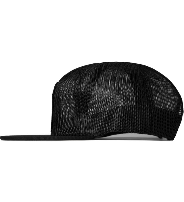 Undefeated - Black Bad Sports Mesh Trucker Snapback Cap  55b6c850cbe6