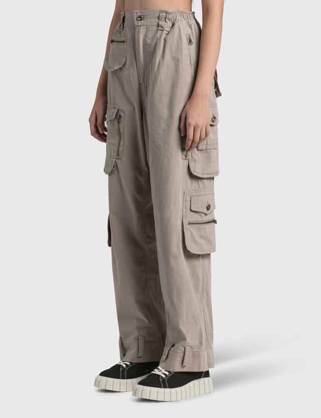 Hyein Seo Cargo Pants Grey Women