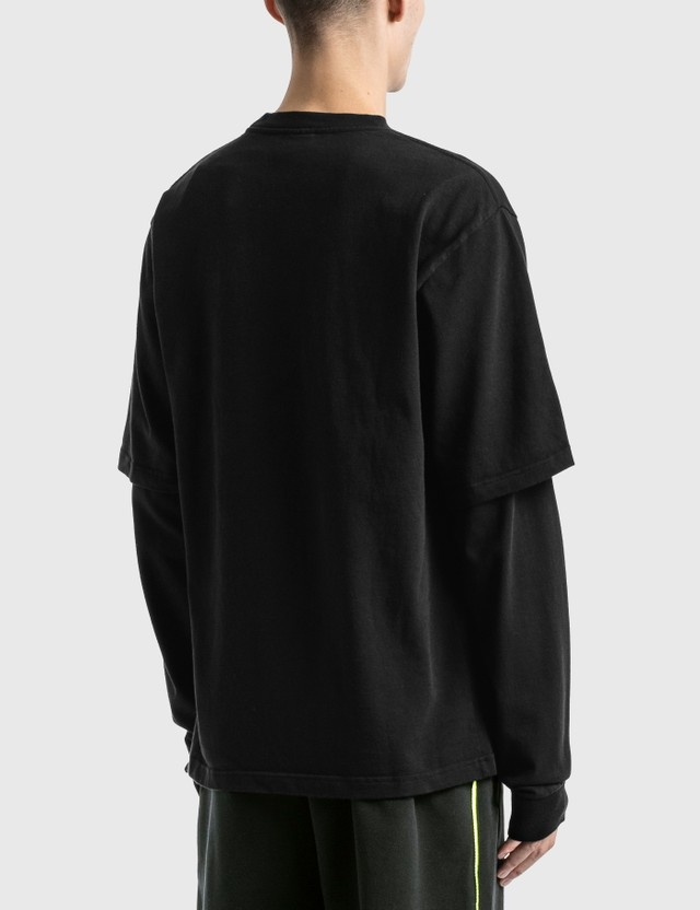 GR10K Double Utility BM T-Shirt Black Men