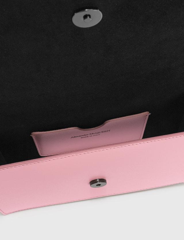 Alexander McQueen Small Story Crossbody Albion Pink Women