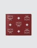 MCM Logo Visetos Fold Wallet Picture