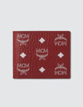MCM Logo Visetos Fold Wallet Picutre
