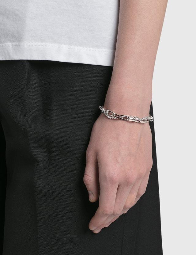 Justine Clenquet Kirsten Palladium Bracelet Silver Women