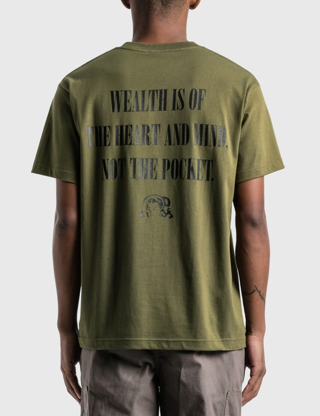 Billionaire Boys Club Astronaut Photo T-Shirt Khaki Men