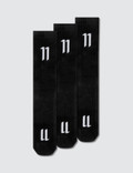 11 By Boris Bidjan Saberi Black Socks Picture