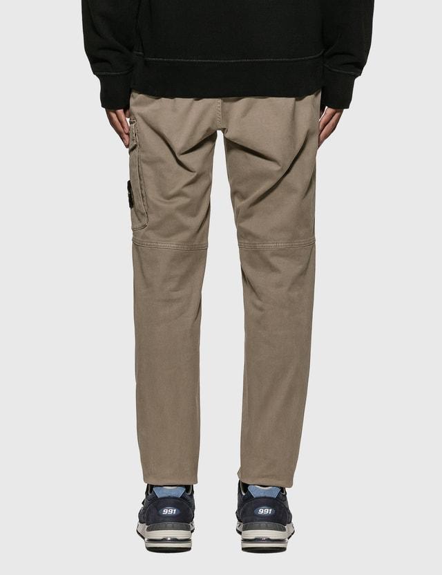 Stone Island Slim Cotton Twill Pants Grey Men