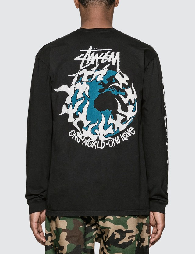 Stussy One Love Pigment Dyed Long Sleeve T-Shirt