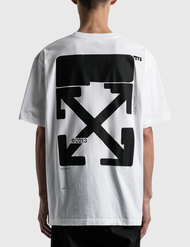 Off-White Tech Marker Oversized T-shirt White Black Men