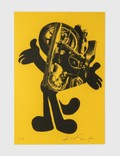 """Kostas Seremetis """"The All Mighty"""" KS051 Limited Edition Print on Yellow Paper Picture"""