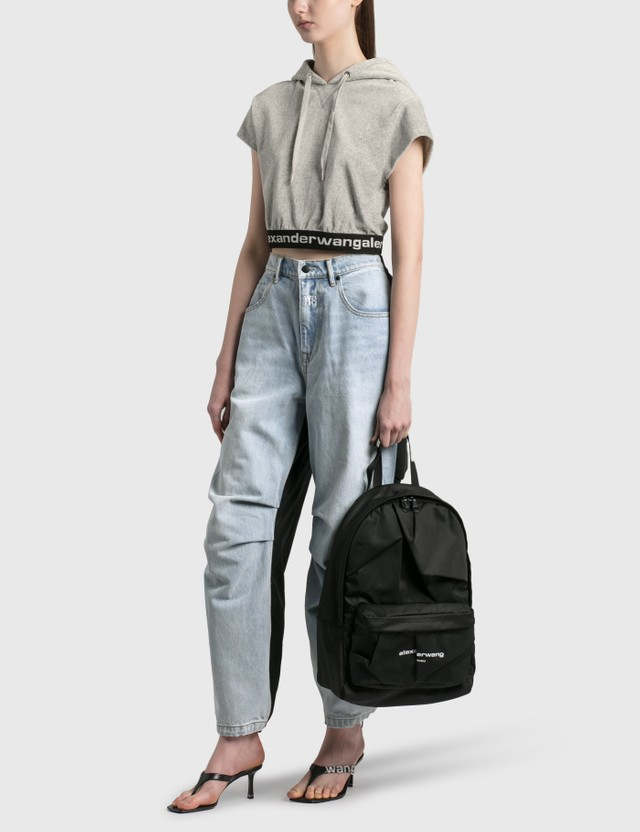 Alexander Wang Wangsport Backpack Black Women