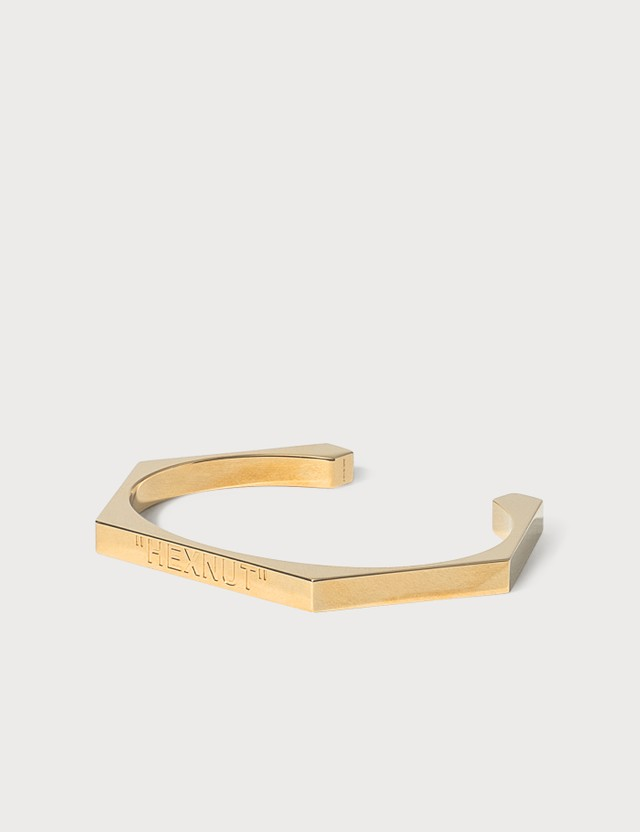 Off-White Bolt Bracelet