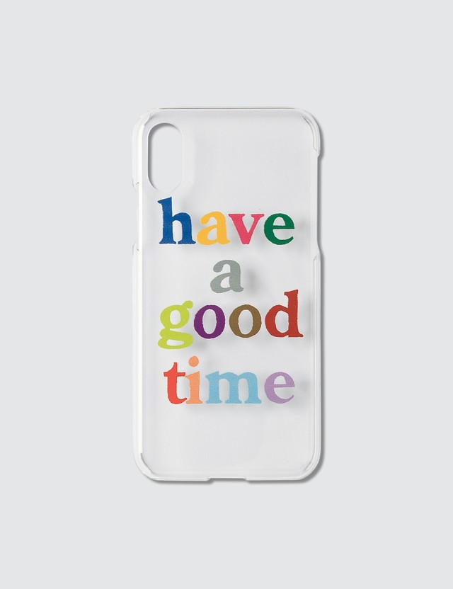 Have A Good Time Colorful Logo iPhone Case X/Xs