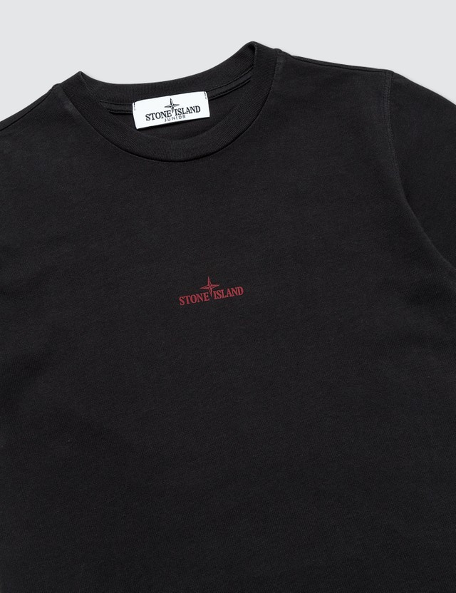 Stone Island T-Shirts (Toddler) Black  Kids
