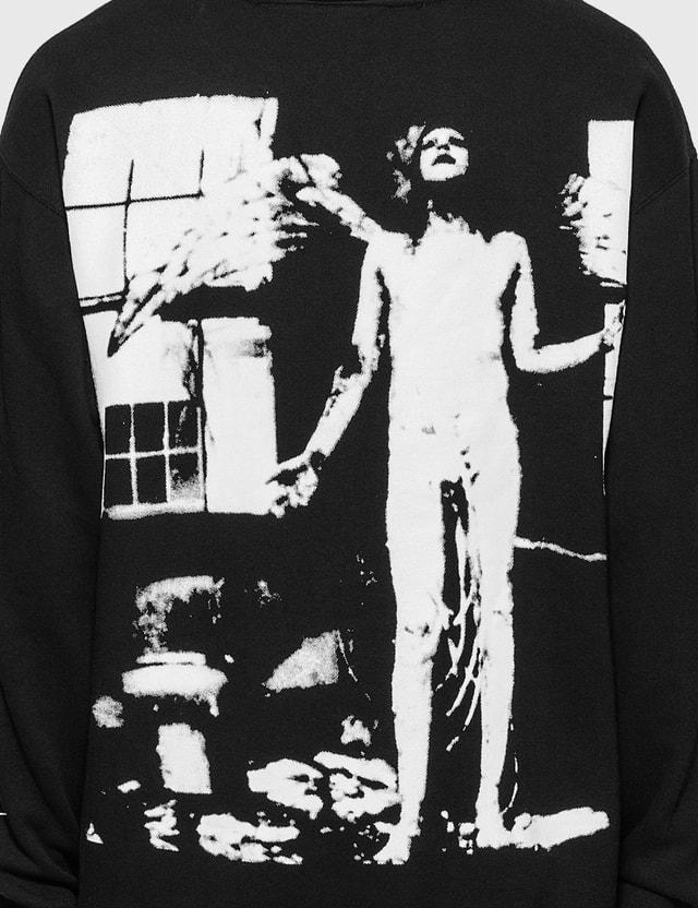 Pleasures Pleasures x Marilyn Manson Antichrist 후드 Black Men