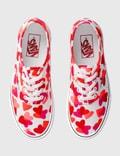Vans Valentines Hearts Authentic (valentines Hearts) True White/fuchsia Purple Women