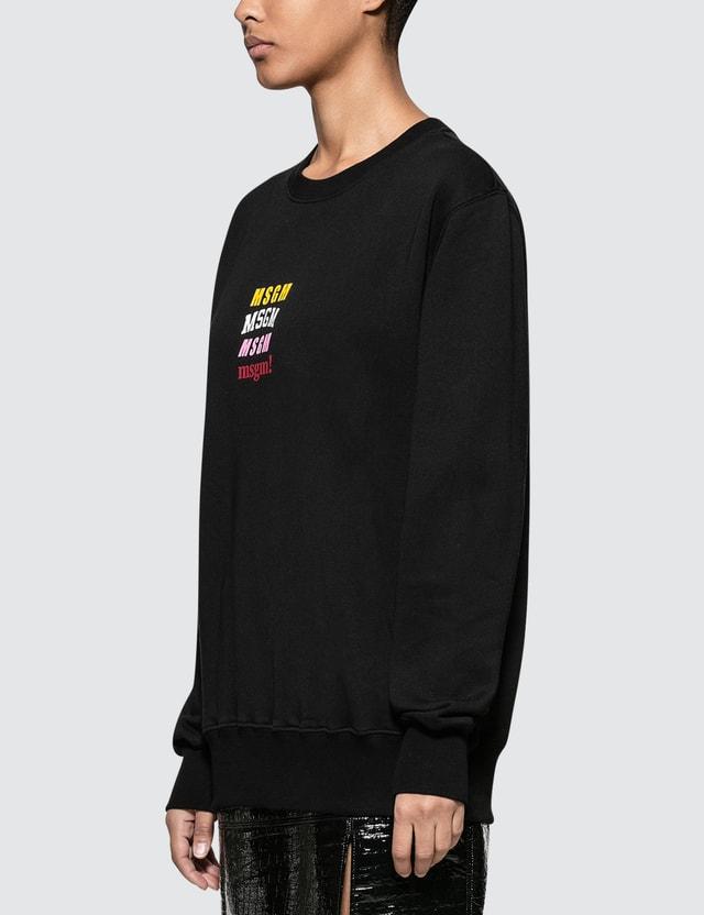 MSGM Mix Logo Sweatshirt