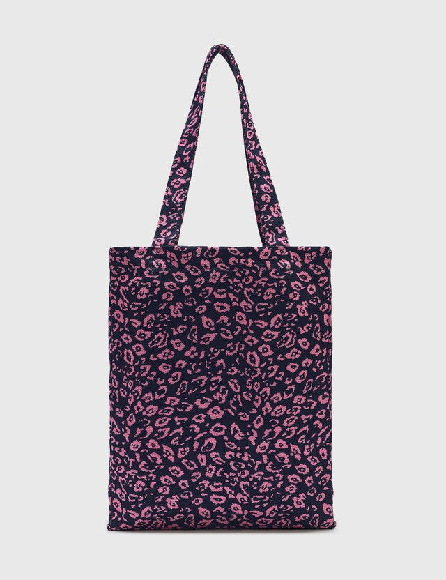 A.P.C. Lou Leopard Tote Bag