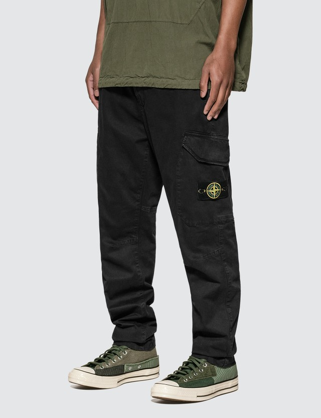 Stone Island Stretch Broken Twill Cargo Pants