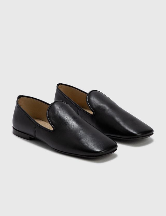 Lemaire Soft Loafer Black Women