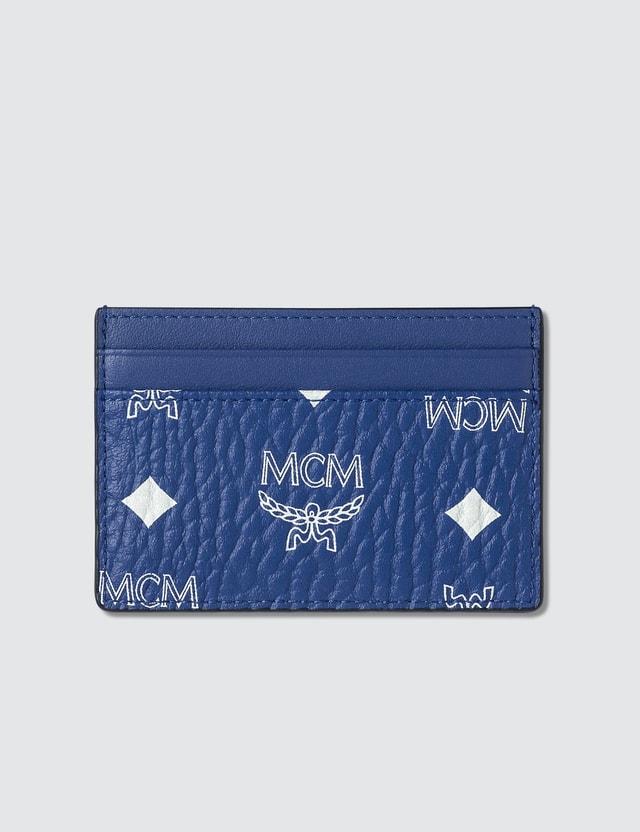 MCM Card Case in Visetos