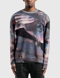 Marcelo Burlon All Over Lilium Sweatshirt Picture