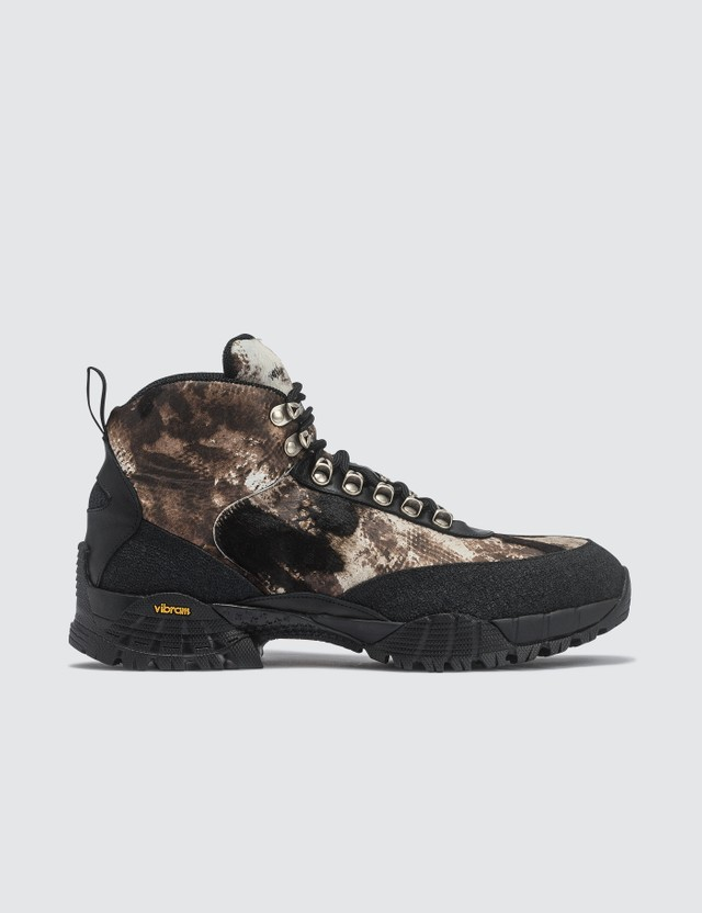 1017 ALYX 9SM Camo Pony Hiking Boots