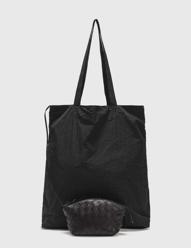 Bottega Veneta Light Paper Nylon Tote Bag