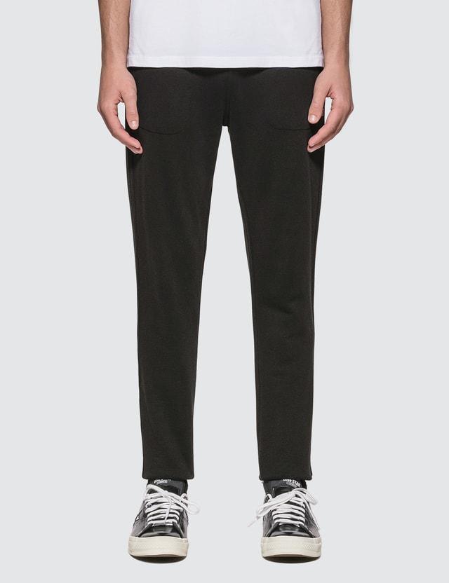 Maison Kitsune Tricolor Fox Patch Classic Jog Pants