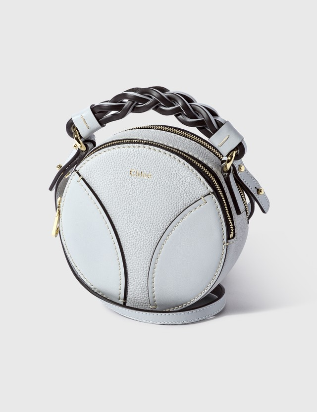 Chloé Mini Daria Round Bag Light Cloud Women