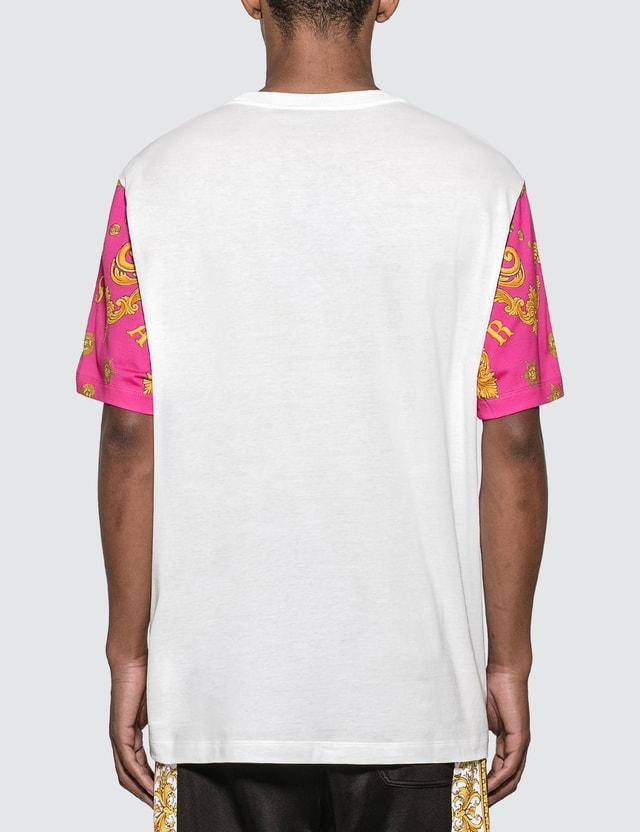Versace Le Pop Classique T-shirt Fuxia+stampa Men
