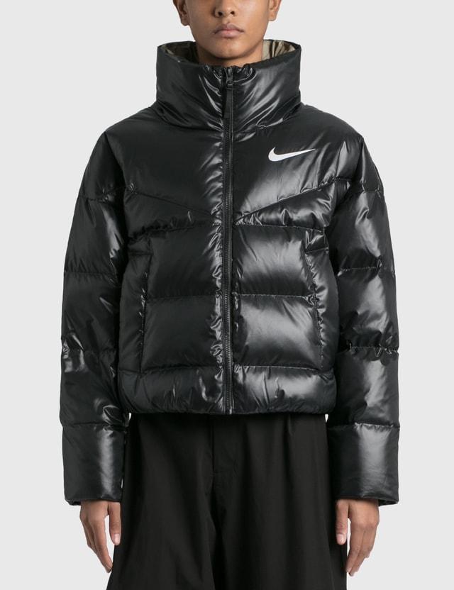 Nike Nike Down Jacket Black/mystic Stone/white Women