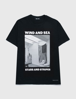 Wind And Sea Stars And Stripes Photo T-shirt