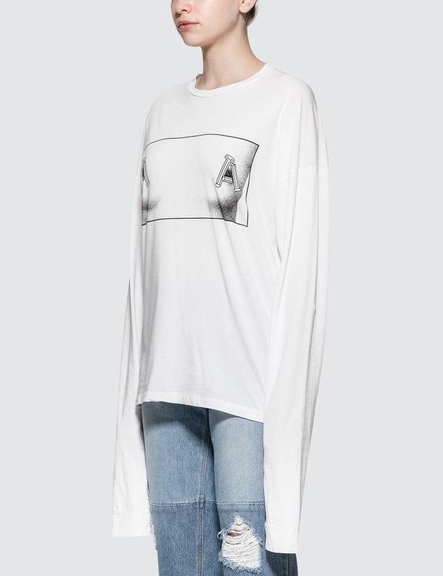 Aries Temple Tit Long Sleeve T-Shirt