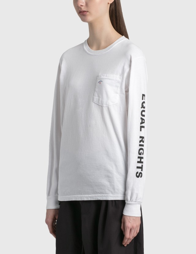 "Noah Noah x Peter Tosh ""Equal Rights"" pocket Long Sleeve T-shirt"