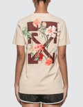 Off-White Flowers Carryover Casual T-shirt Picutre