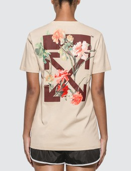 Off-White Flowers Carryover Casual T-shirt