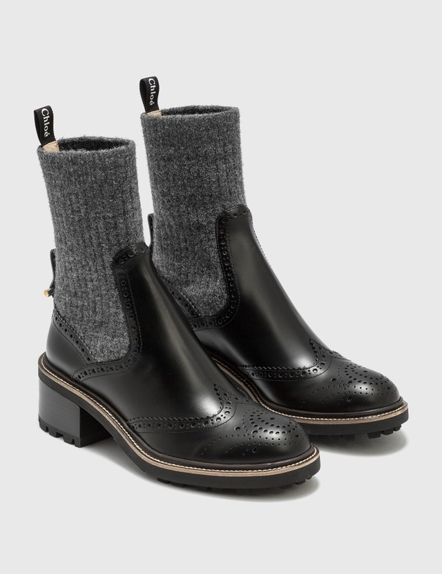 Chloé Franne Sock Ankle Boots