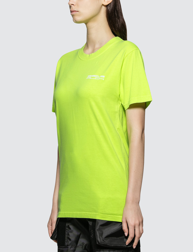 ALCH Alch Logo T-shirt Neon Yellow Women