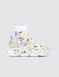 MSGM Multicolor Drip Bootie Runners Picture