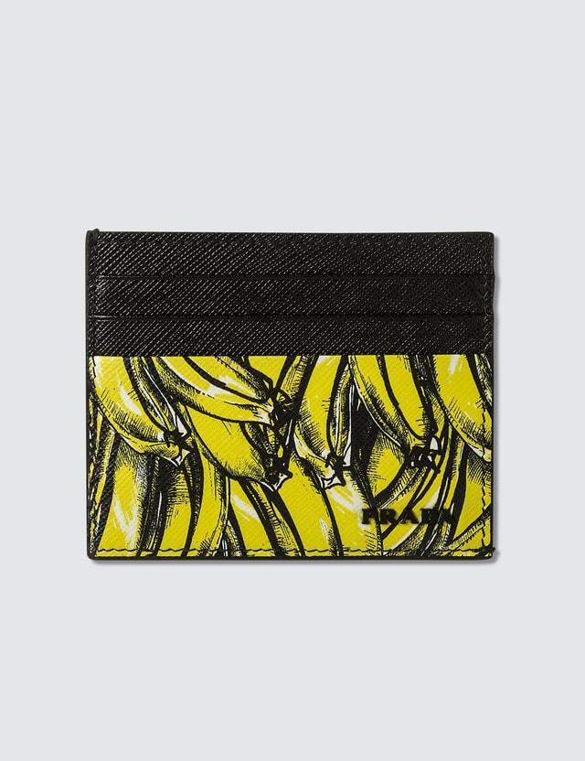 Prada Bananas Card Holder