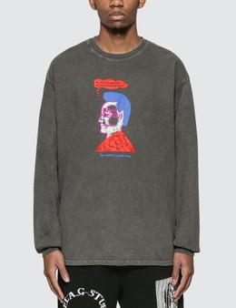Brain Dead Head Party Long Sleeve T-shirt