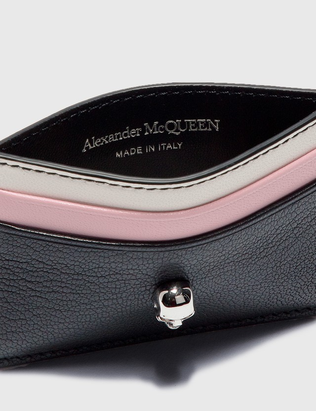 Alexander McQueen Skull Card Holder Multicolor Women